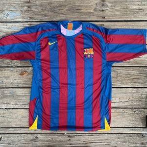 Nike Barcelona FC 2005/2006 Home Jersey